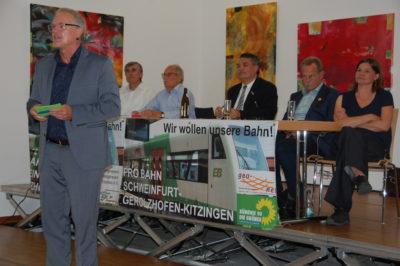 Steigerwaldbahn: Schiene hat Zukunft