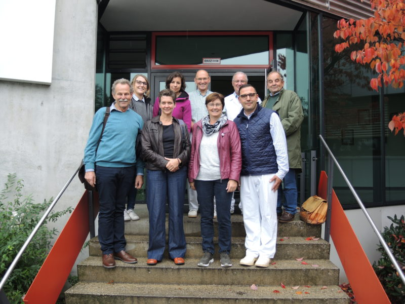 Grüne Delegation zu Besuch bei Vion