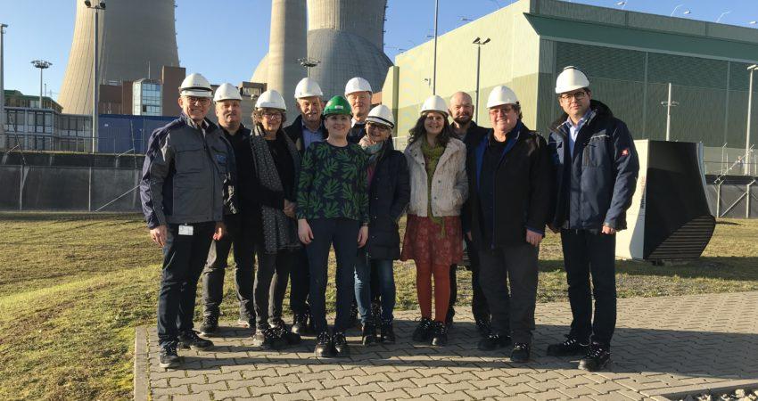 Besuch der Grünen-Fraktionen im Zwischenlager Grafenrheinfeld