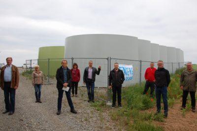 Grüne: Windpark ist für Energiewende unablässlich. Schulterschluss mit CSU-Bürgermeistern für gefährdetes Windkraftprojekt