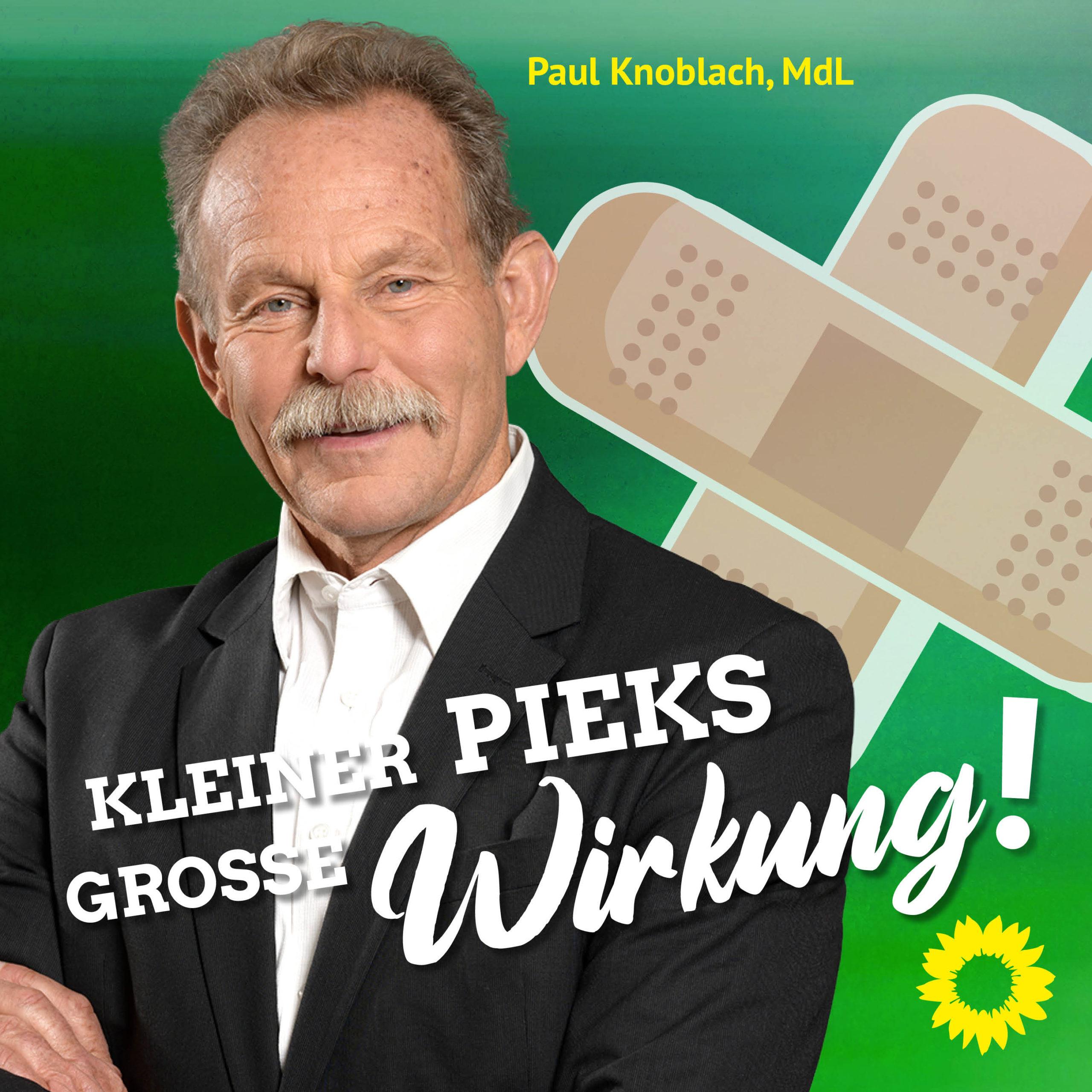 MdL Paul Knoblach lässt sich gegen Corona impfen - und du?