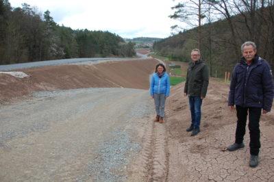 Ausbau der Staatsstraße zwischen Geckenau und Frickenhausen