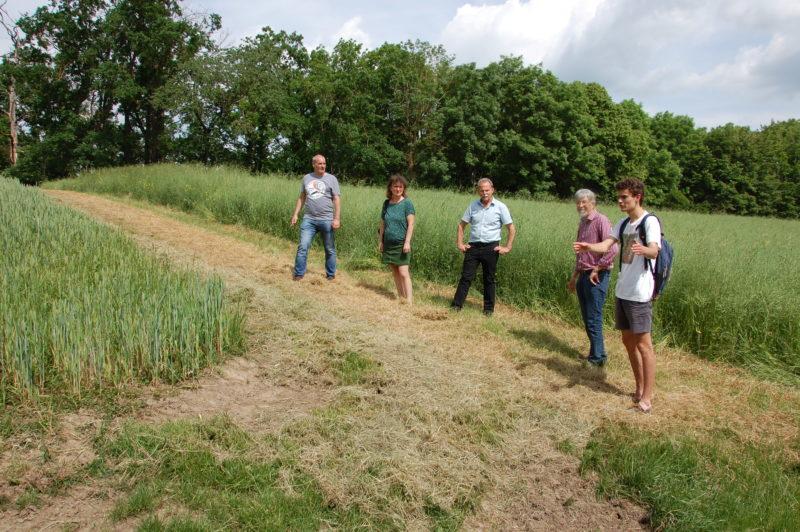 Vor-Ort-Termin des Abgeordneten Paul Knoblach in Sulzfeld